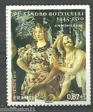 2010..ADHESIF//TIMBRE FRANCE NEUF**BOTTICELLI- LA NYMPHE//STAMP.Y/T°492