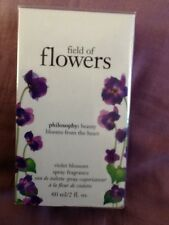Philosophy Field of Flowers Violet Blossom Spray Fragrance 2 oz / 60 ml Sealed