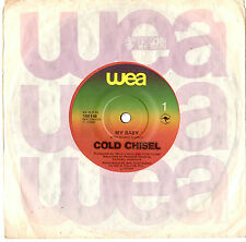 "COLD CHISEL - MY BABY / MISFITS - 7"" 45 VINYL RECORD 1980"