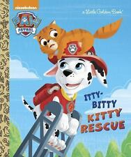 A Little Golden Book - PawPatrol Itty-Bitty Kitty Rescue