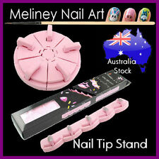 Nail Art Tip Display Foam Stand Holder Training Practice Manicure Nail Art Tool