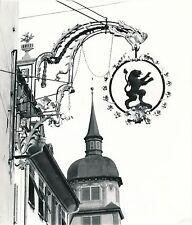 """ALTDORF c. 1960 - Jolie Enseigne de Magasin """"Lion"""" Suisse - Div 6153"""