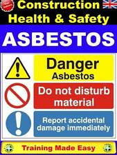 NEW ASBESTOS Awareness Regs 2012 Construction Health & Safety Training Made Easy
