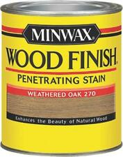 NEW MINWAX 22760 WEATHERED OAK INTERIOR OIL BASED WOOD FINISH STAIN 7995772