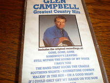 Glen Campbell CASSETTE NEW Greatest Country Hits