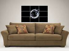 "KNIFE PARTY 35""X25"" INCH MOSAIC WALL POSTER DUBSTEP DRUM & BASS"