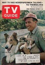 1964 TV Guide October 17 - Lassie; Man From Uncle; Bel Nelson; Patty Duke;Rogues