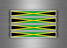 4x sticker decal car stripe motorcycle racing flag bike moto tuning jamaica