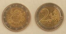 Países Bajos 2 euro 2012, 10 años de euros * 1819 *
