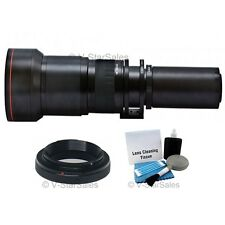 Vivitar 650mm-1300mm Telephoto Zoom Lens for Sony A85 A99 A450 A550 A350 A380