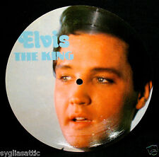 ELVIS PRESLEY-ELVIS THE KING-IMPORT PICTURE DISC-ROCKABILLY-King Creole