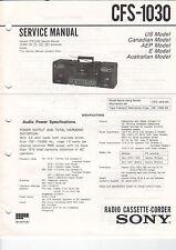 SONY Service Manual CFS-1030 - B2056