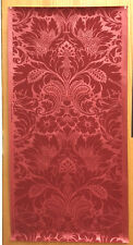 Antique Late 19th /Early 20th C. French Damask  Wallpaper (8773 )