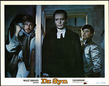 DR SYN ALIAS THE SCARECROW orig DISNEY lobby card movie poster PATRICK MCGOOHAN