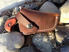 Custom Leather Holster for NAA .22