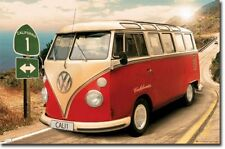 TRAVEL POSTER VW Californian Camper