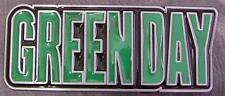 Pewter Belt Buckle Music Greenday NEW