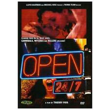 Open 24/7 DVD Troma Films Thierry Paya - NEW