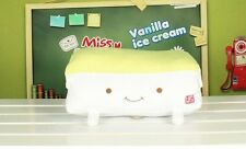 Japanese Anime Hannari GRILL ToFu BeanCurd Hand Warming Cushion Plush 36cm