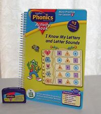 Leap Frog Phonics - I Know My Letters and Letter Sounds LeapPad Book & Cartridge