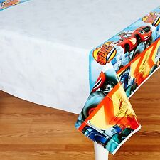 "Blaze and the Monster Machines Birthday Party Plastic Tablecover 54""x96"""