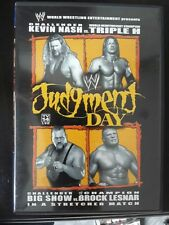 WWE  Judgment Day 2003 Wrestling dvd TRIPLE H Kevin Nash