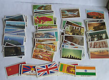Cards – Brooke Bond Tea – various from 5 sets - c111 1984 to 89 - good condition