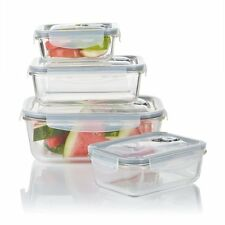 Wolfgang Puck 8 piece Glass Vacuum Storage Set