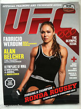 RONDA ROUSEY RARE 1st Cover UFC Magazine August 2012 MMA NEWSSTAND NO LABEL