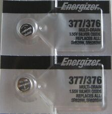 10 pieces of Energizer 376/377 Watch battery blowout! Silver oxide - NEW