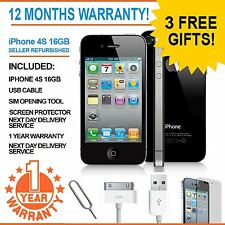 Apple iPhone 4S 16GB Factory Unlocked - Black - Faulty WIFI