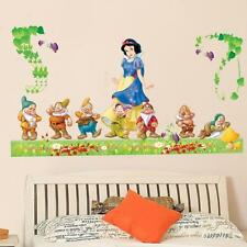 Large Snow White and Seven Dwarfs Wall Decals Stickers For Kids Room  Decal Diy