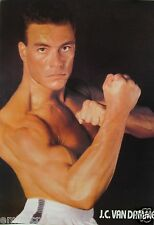 "JEAN-CLAUDE VAN DAMME ""READY FOR ACTION!"" POSTER FROM ASIA-Muscles From Brussles"