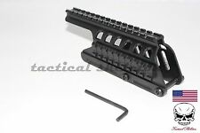 Remington 870 Vector Optics side saddle rail mount 12 gauge shotgun