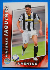 FOOTBALL CARDS PANINI REAL ACTION 2008-09 - N. 103 - IAQUINTA - JUVENTUS - new