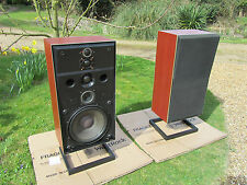 B&O Bang & Olufsen M100-2 Speakers - Pair - Rosewood - Top of the Range Monitors