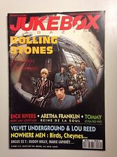JUKEBOX MAGAZINE N°72 JUILL-AOUT 1993 ROLLING STONES - POSTER CHAUSSETTES NOIRES