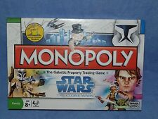 MONOPOLY - STAR WARS - THE CLONE WARS EDITION - PARKER / HASBRO 2008 100%