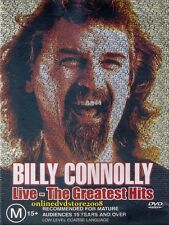 BILLY CONNOLLY LIVE - The GREATEST Hits - Stand-Up COMEDY DVD Region 2 & 4