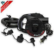 Intex Electric Quick-Fill Air Pump, for Inflatable Airbed Mattress One Size USA