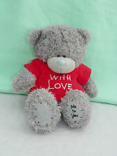 Me To You peluche ourson 20 cm assis *-* LOVE *-* Tshirt rouge