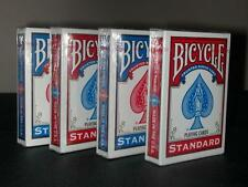 Bicycle Standard poker carte da gioco 4 Pack ponti nuovi Gratis P&P