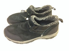 CRB Canyon River Blues Shoes Black Columbus Leather Slip On Winter Women's 9.5