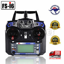 FS-I6 Flysky 2.4G 6CH Transmitter & Receiver For RC Plane Helicopter Multicopter