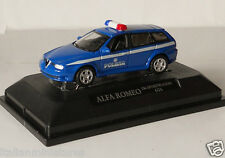 Alfa Romeo 156 GTA Sportwagon Police Polizia Model 1/72 New in Box