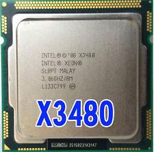 Intel Xeon X3480 Processor 8M Cache 3.06 GHz SLBPT LGA1156 P55 H55 equal i7-880