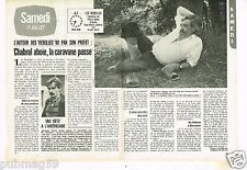 Coupure de presse Clipping 1982 (2 pages) Jean Pierre Chabrol