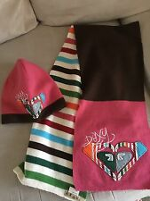 Roxy Knit Beanie and Mathing Scarf Set -NWOT