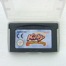 Kirby & The Amazing Mirror Labyrinth Nintendo Gameboy SP GBA Game Boy Advance EU