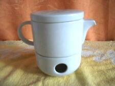 Portions Tee Kännchen mit Stövchen Neu